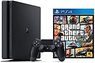 PlayStation 4 Slim 1TB Console Grand Theft Auto V Bundle ( 2 - Items )