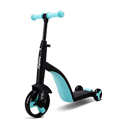 CHENYE 3 en 1 Triciclos para niños por 1-3-6 años, 3 Ruedas para niños pequeños Bike Boys Girls Trikes para niños pequeños Triciclos de Bicicletas de bebé (Azul)