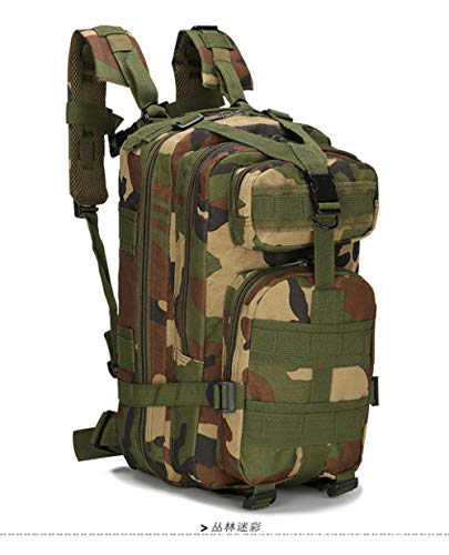YYMMQQ zaino da esterno,25-30L Tactical Backpack Men's Hiking Trekking Traveling Backpack Army Military Backpack Outdoor Sport Climbing Women Bag,1,30, 40L