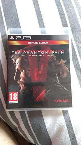 MGS V THE PHANTOM PAIN DAY 1 PS3 FR