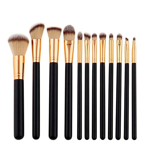 MEIYY Pinceau de maquillage New Fashion Women 12Pcs Makeup Brushes Set Foundation Powder Eyeshadow Eyeliner Lip Brush Tool Beauty
