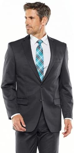 Van Heusen Mens Suit Separates Classic-Fit Jacket Patterned Las Vegas SEAL limited product Mall