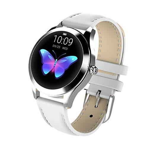 Nilipei IP68 wasserdichte Smartwatch für Damen, schönes Armband, Herzfrequenz-Monitor, Schlafüberwachung, Smart-Watch, Verbindung mit iOS und Android, KW10 Armband, Smart-Watches, Stahlband