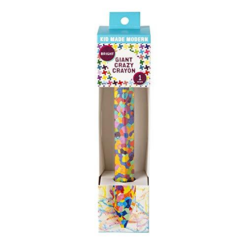 Kid Made Modern Giant Crazy Crayon Bright, 1 EA