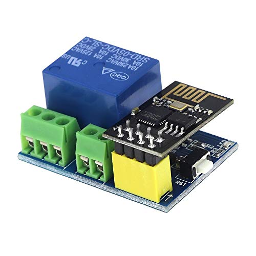 WULE-RYP DC 5V WiFi Módulo de relé Cosas Smart Home Interruptor de Control Remoto Teléfono App ESP-01 Módulo WiFi