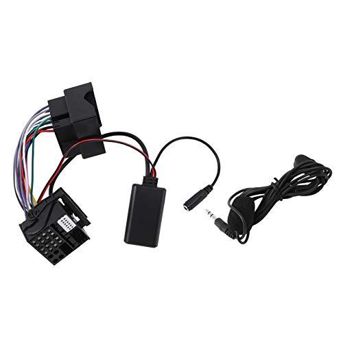 ACAMPTAR para RCD310 RCD510 RNS510 Radio del Coche Dispositivo de MúSica de Audio 5,0 Adaptador Auxiliar de Manos Libres para Scirocco Magotan