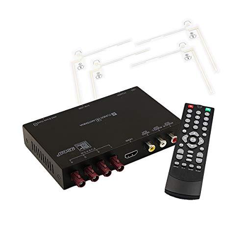 「FAK4X4TUNER」高精細度 地デジチューナー FAKRAコネクター フルセグチューナー HDMI 4x4 miniB-CASカード付き 宅配便 K&M