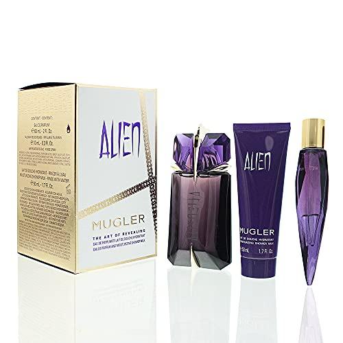 Thierry Mugler Thierry mugler alien edp 60 ml talisman recargable 10 ml shower milk 50 ml set