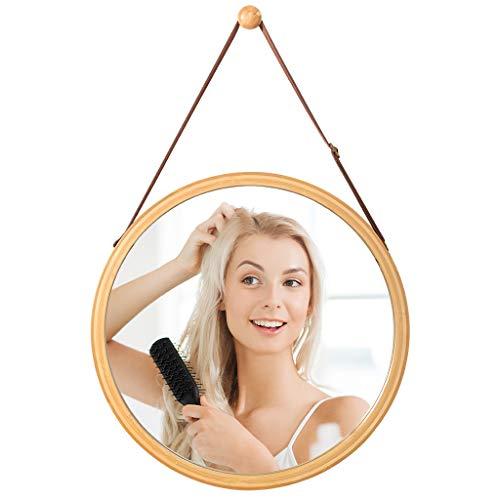 LANGRIA Specchio da Parete con Cornice in Bambù...