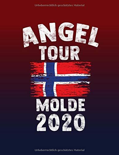 Angeltour Norwegen - Molde 2020: DIN A4 Fangbuch auf über 120 Seiten für den perfekten Angelurlaub in Norge. Angel Buch Notizbuch / Logbuch zum Eintragen der Fänge und Fische.