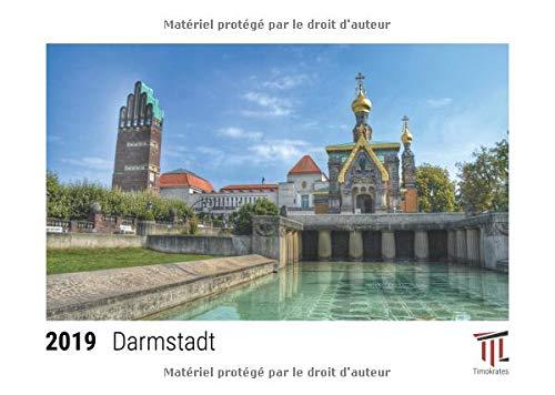 Darmstadt 2019 - Calendrier de bureau Timokrates, calendrier photo, calendrier photo - DIN A5 (21 x 15 cm)