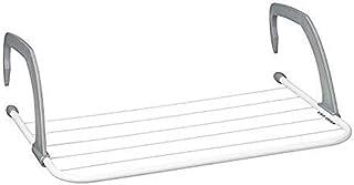 Eizurs Soporte para Rack de Almacenamiento Colgante de Metal Secador de Ropa Airier Colgado en el radiador Balcón sobre la Puerta Estante de Secado de Montaje en Ventana