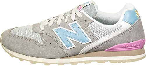 New Balance Wl996 B, Zapatillas de Tenis Mujer, Blanco (Col Marblehead 12), 37 EU