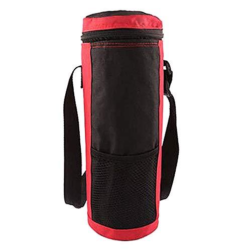 Naduew Insulated Bottle Bag, Thermotasche mit runder Flasche, große Kapazität, für Zuhause, Büro, Camping, Reisen