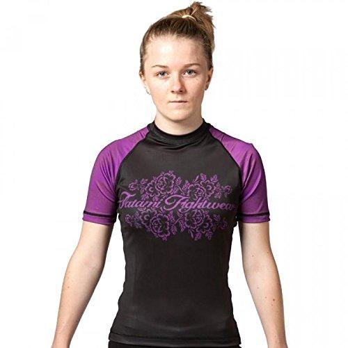 Tatami Fightwear Phoenix Rash Guard - Camiseta para Mujer, Phoenix, Mujer, Color Morado, tamaño Small