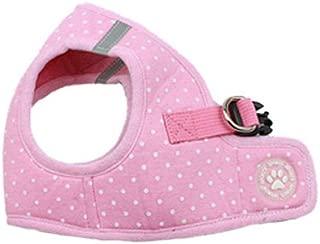 BINGPET BB5004 Polka Dot Soft Vest Dog Puppy Pet Harness Adjustable