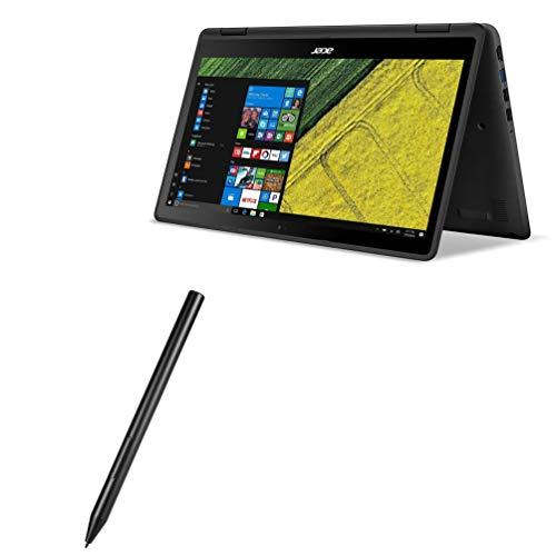 Caneta Stylus Acer Spin 5, BoxWave [ActiveStudio Active Stylus 2020] Caneta eletrônica com ponta ultrafina para Acer Spin 5 - Preto Jet