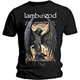 Photo de Lamb of God Winged Death Ashes of The Wake Tee T Shirt Mens Unisex T-Shirts à Manches Courtes(X-Large)
