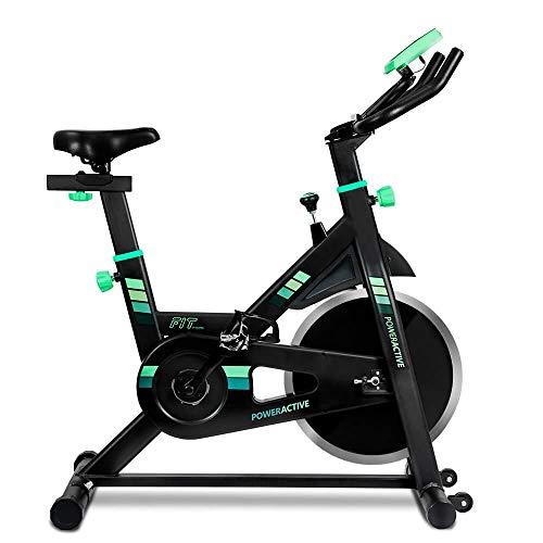 MUGAR-Bicicletas Estáticas Spinning PowerActive Ciclo Indoor