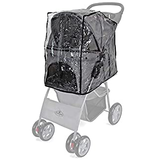 Easipet Rain Cover Pet Stroller 24