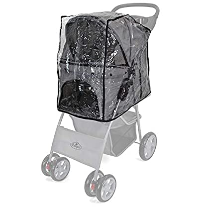 Easipet Rain Cover Pet Stroller 1