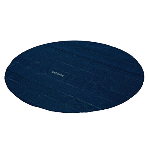 Leisure Profi Pool Solarabdeckplane schwarz/blau 457cm