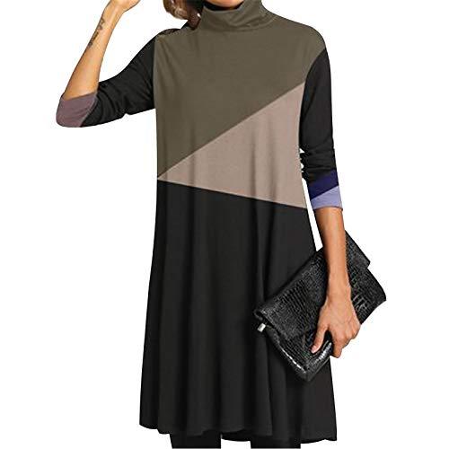 Janly Clearance Sale Vestidos para mujer, pintura al óleo, con cruz de...