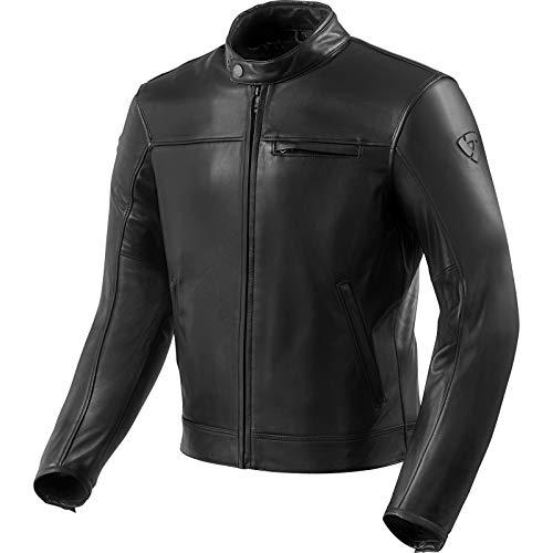 Revit Motorrad Jacke Lederjacke Roamer 2 Farbe Schwarz, Größe M60