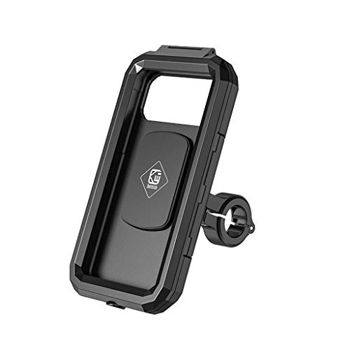 Changzhou Impermeable Caso Moto Manillar Espejo retrovisor 3 a 6.8 pulgadas teléfono móvil Montura bolsa moto scooter teléfono soporte