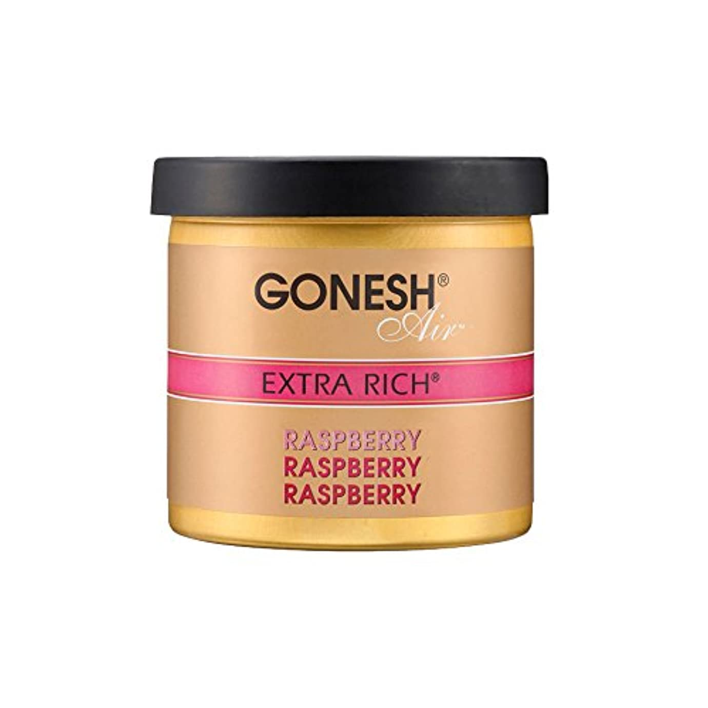 フォローまもなく食料品店GONESH ゲルエアフレッシュナー エクストラリッチ ラズベリー