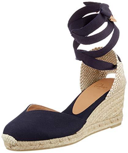 Castañer Damen Chiara Sneaker, Azul Marino, 38 EU
