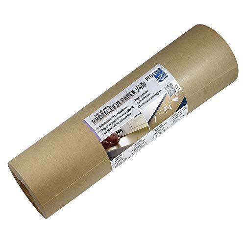 proTECT, selbstklebendes Abdeckpapier, 50g Kraftpapier, Rolle mit 300mm x 50m