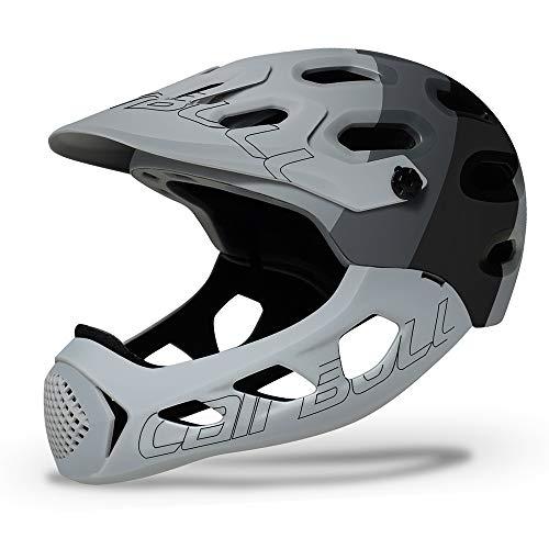Cairbull Casco integral de cross-country Casco de protección para deportes extremos Bicicleta de montaña Casco de descenso de cross-country Casco deportivo de alta intensidad