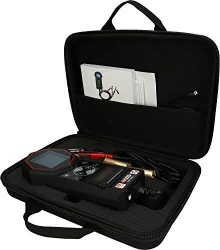 KS Tools 550.1649 12V / 24V Digital-Batterie-und Ladesystemtester mit integriertem Drucker