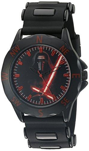 Star Wars SWM1136 Reloj analógico de Cuarzo Negro para Hombre