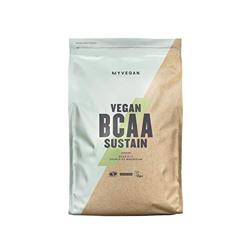 MyVegan BCAA Sustain by MyProtein. Vegan Gluten-Free Branched Chain Amino Acid Powder (BCAA) Supplement with Botanicals. Daily Workout Support and Hydration - Raspberry Lemonade 500g (45 Servings)