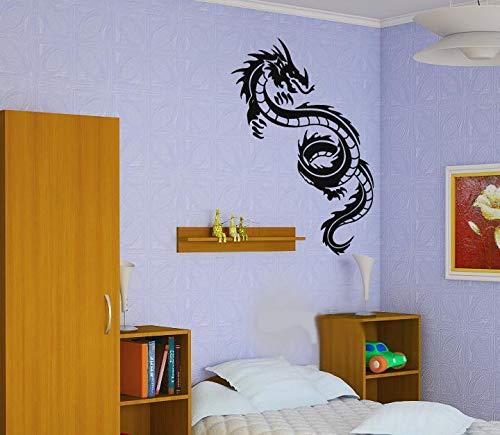 Wilde dieren stickers draak stickers posters muurstickers stickers stickers decoratieve muurschilderingen wilde dieren stickers 87x186cm