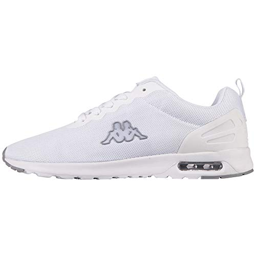 Kappa Damskie buty typu sneaker Classy, biały - Biały White L Grey 1016-36 EU