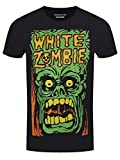 Photo de White Zombie Homme Monster Yelling T-Shirt Noir