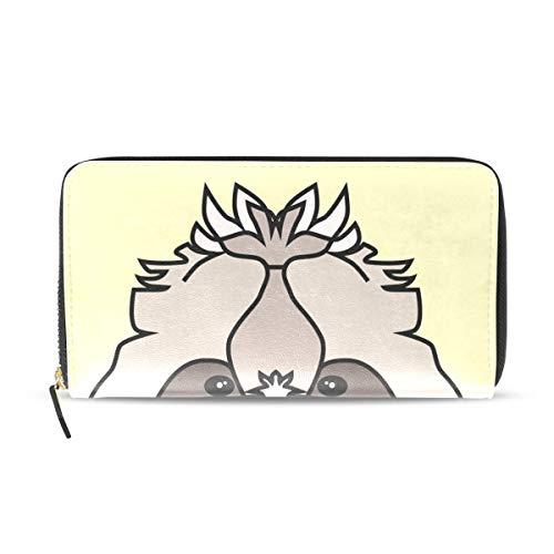 Wallet Clutch Shih Tzu Dog - Card Cases Money Organizers, CuiLL PU Leather Handbag for Men Women