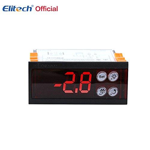 Groot LCD-scherm Temperatuurregelaar/Thermostaat -50-99 met eenvoudige plug-in aansluitmethode