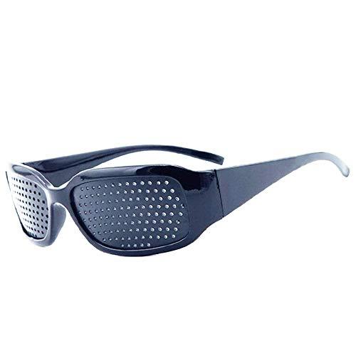 ピンホールメガネ 視力回復 視力改善 視力トレーニング DOLLGER 遠近兼用 眼筋運動に 眼精疲労解消 眼筋力アップ 近視 遠視 老眼 乱視の改善