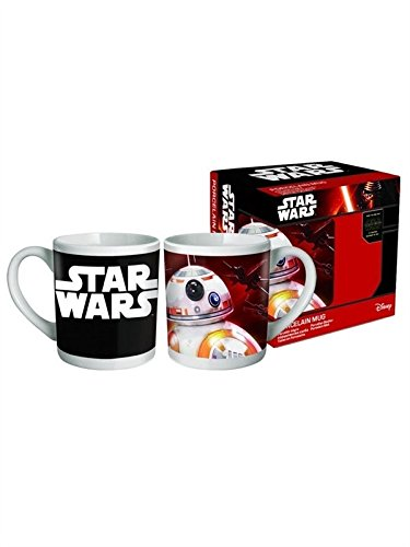 Star Wars Tasse AUSWAHL Yoda Darth Vader Stormtrooper Chewbacca Kaffeetasse (Bb-8)