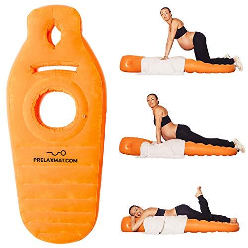 Prelaxmat Schwangerschafts Matratze, Schwangerschaftskissen, Orange