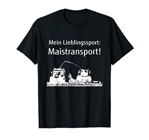 Mais häckseln T-Shirts Landwirt Bauer Lohner Maistransport T-Shirt