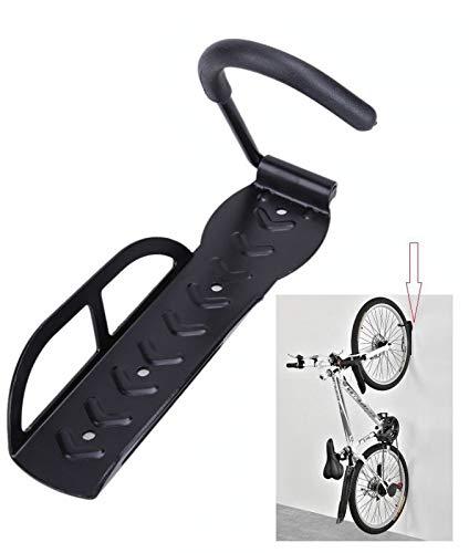 INION MHBKK02 - Wand Fahrradhalter Halterung Wandhalterung bis 25 Kg für Wohnung,Garage oder Keller. inkl. Schrauben & Dübel/chiavi