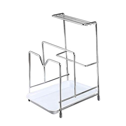 ZYL-YL Multifunctional Kitchen Tableware Drying Rack And Cutlery Sink Tray Stainless Steel Multi-layer Racks Cutting Board Pot Lid Drain Rack 304 stainless steel sink drain basket