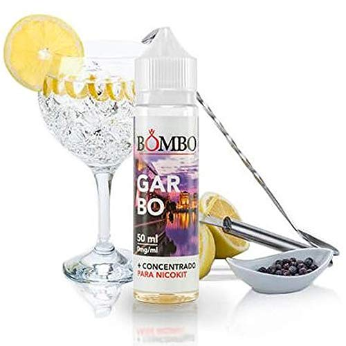 E-liquid BOMBO GARBO 50ML – ginebra blanca toque