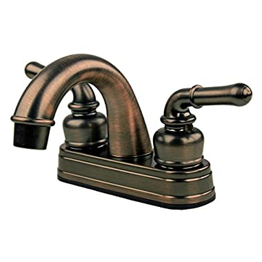 RV / Mobile Home Bathroom Sink Faucet, Oil Rubbed Bronze
