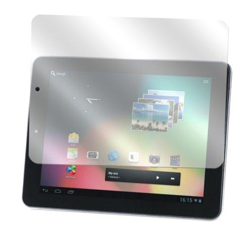 dipos I 2X Schutzfolie klar kompatibel mit Intenso Tab 814 Folie Displayschutzfolie